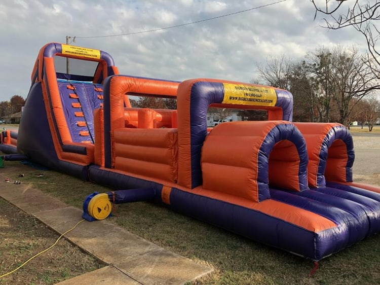 52 ft Obstacle Course