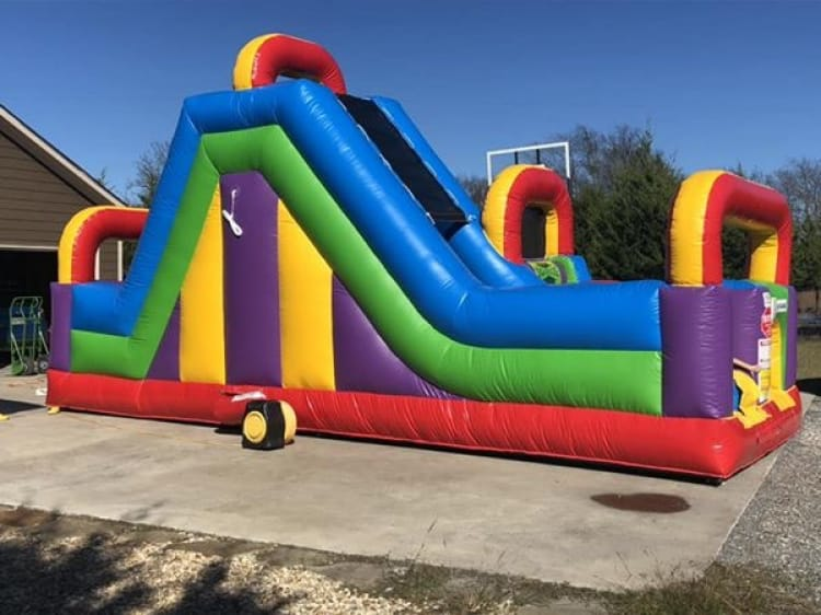 30 ft Wacky 180 Obstacle Course