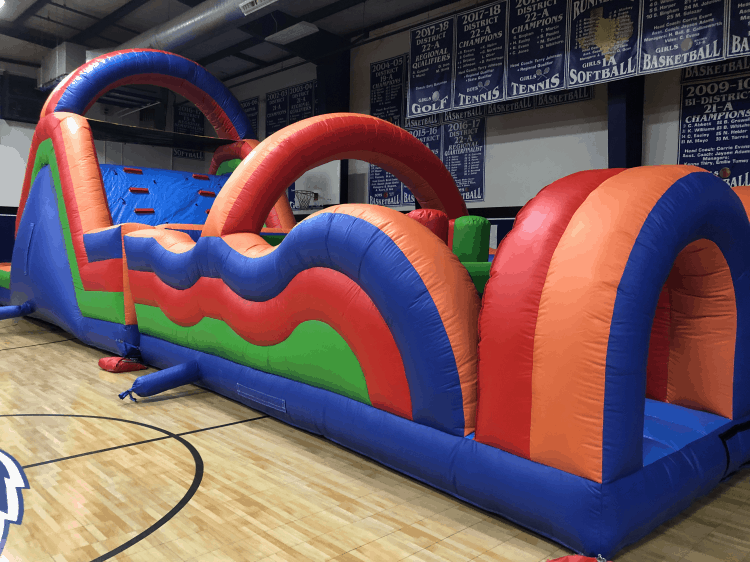 60 ft Primary Obstacle Course - Wet