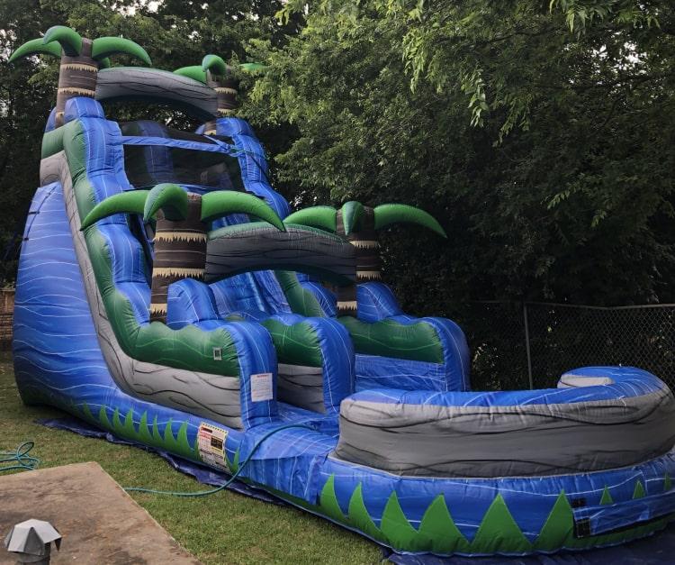 18 ft Paradise Falls Slide - Wet