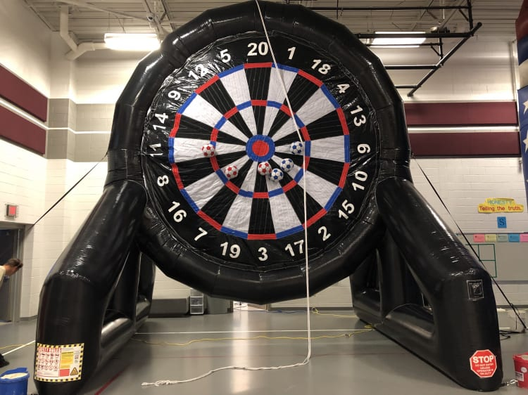 20 ft Soccer Darts